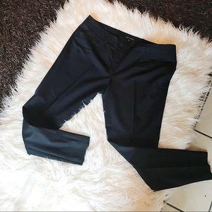 PINK TARTAN | Navy Dress Pants Skinny Slim Blue 12